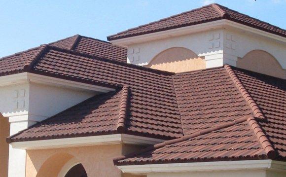 На фото показана крыша