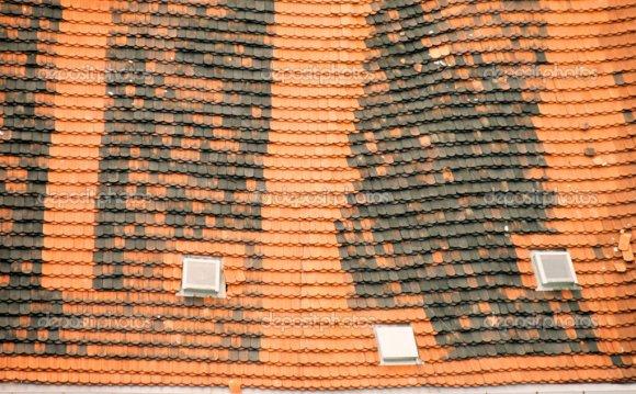 Крыша черепица фон – Стоковое