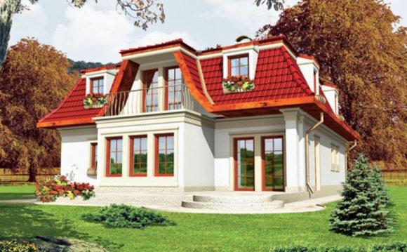 Использование мансардных крыш